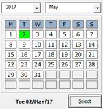 Gantt Chart Excel Date Picker