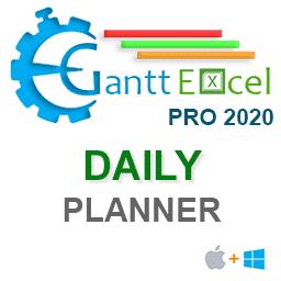 Gantt Excel Pro Daily Planner Mac Version
